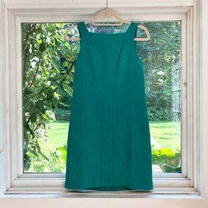 Teal shift dress
